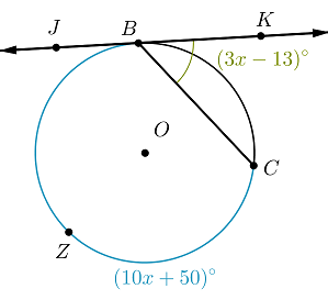 Solved: In The Diagram, CD Is Secant To Circle O At Points